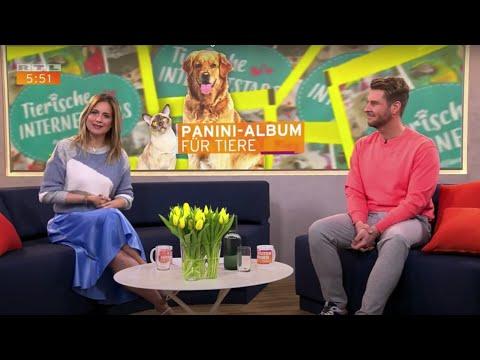 Petfluencer Panini Album bei RTL - Guten Morgen Deutschland