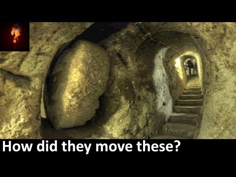 110,000 Yr Old Underground City Found In Turkey?