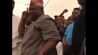 The Nigerian Senator Ademola Adeleke Dancing