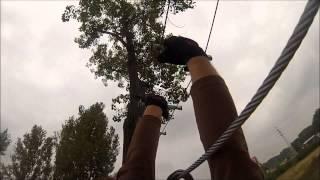Przygoda w parku linowym Zielone Drzewo dla dzieci – Łódź video