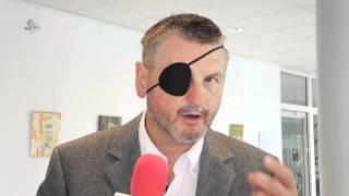 Landrat Uwe Schulze - Statement nach Unfall 2013