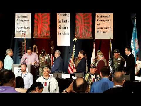NCAI - National Congress of American Indians 2018 - Denver Colorado