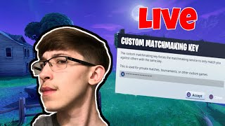 CUSTOMS: (NAE) THE CODE IS Fishwaves SUB TO PLAY AND WINNER GETS SHOUT OUT FORTNITE LIVE