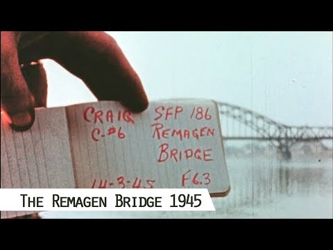 Crossing the Rhine - The unexpected capture of the Remagen Bridge (in color and HD)