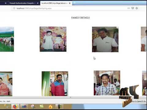 MY VILLAGE WEBSITE - MyProjectBazaar