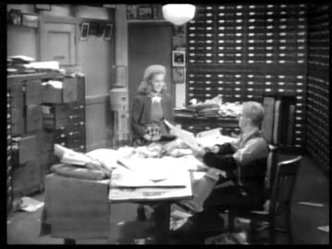 Nancy Drew... Reporter (1939) DETECTIVE