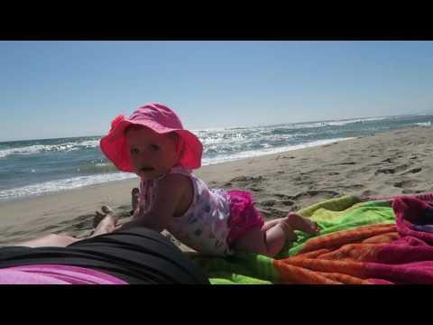 Crawling at the Beach (Manhattan Beach, CA)