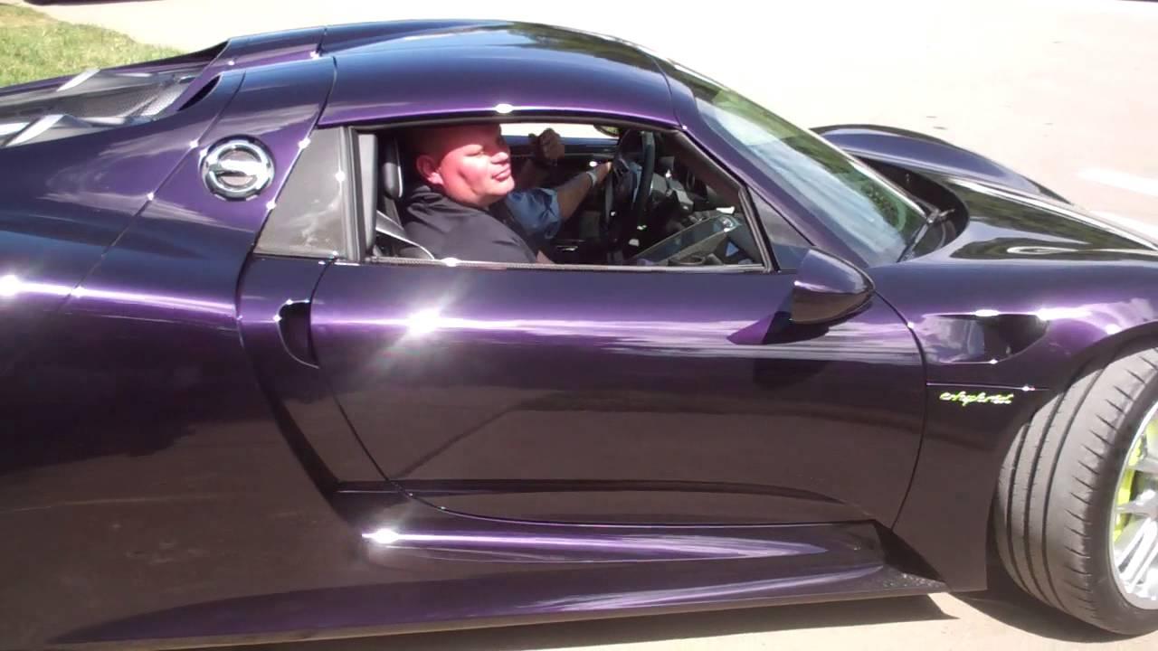 Purple 918 Spyder Rennlist Porsche Discussion Forums