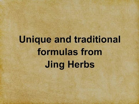 Unique formulas from Jing Herbs