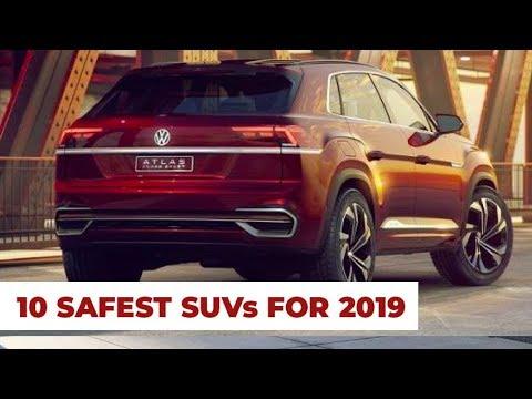 10 Safest Suv Of 2019 Highest Safety Scores Youtube