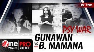 [PSY WAR] Jelang Strawweight Title Fight: Gunawan vs Brando Mamana