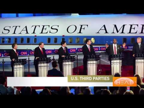 The Heat: Third party candidates in the US presidential elections Pt 1