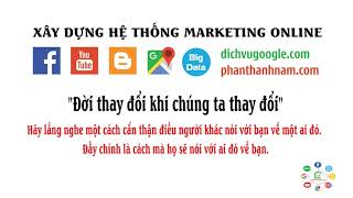 Học Marketing cùng Nhà Đào Tạo Marketing Online Phan Thành Nam