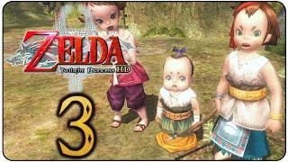The Legend of Zelda Twilight Princess HD 100% Walkthrough Part 3 Slingshot & Sword Training