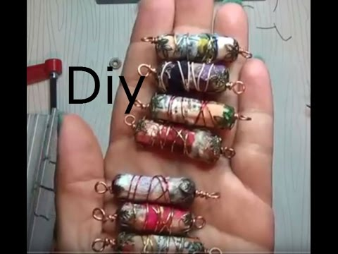 Diy How To Make Recycle Beads Real Time