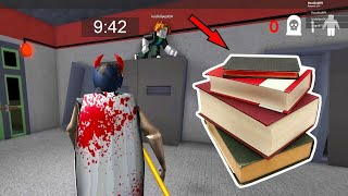 GRANNY WANTS YOU TO DO YOUR HOMEWORK! Granny Multiplayer in Roblox (Old episode)