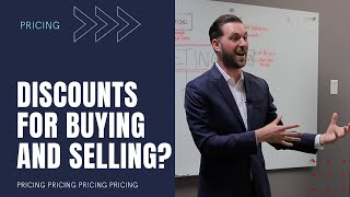 Discounts for buying and selling