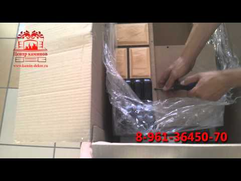 Инструкция по сборке обрамления камина Стоун 28