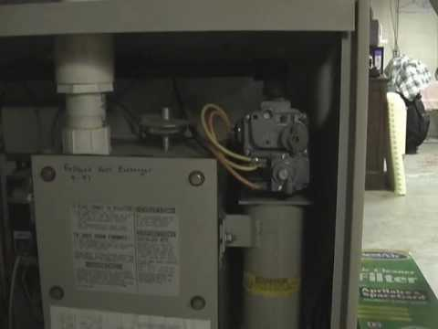 1986 lennox G14 `Pulse` furnace start