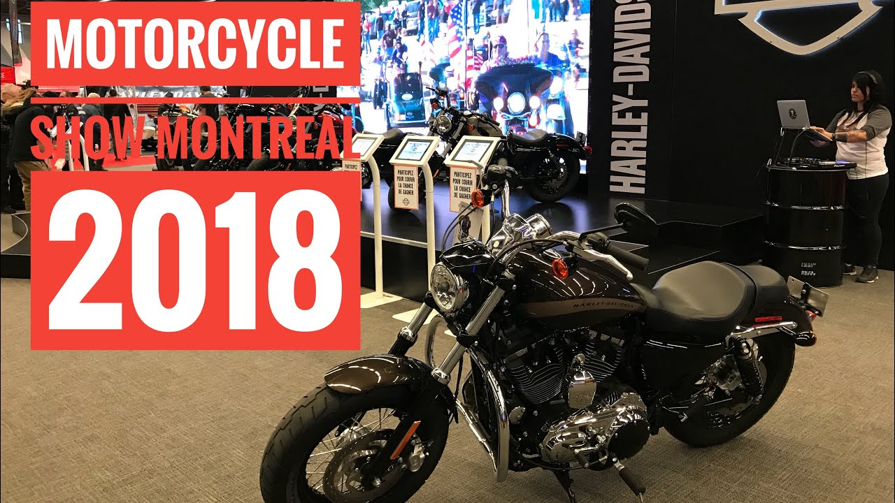 salon de la moto de montr al 2018 montr al motorcycle show 2018 walk tour youtube. Black Bedroom Furniture Sets. Home Design Ideas