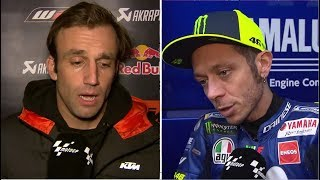 Valentino Rossi n Other Riders Talk About Valencia Test MotoGP DAY 2