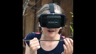 Toy Review! Utopia 360 Virtual Reality headset & Flashcards for kids