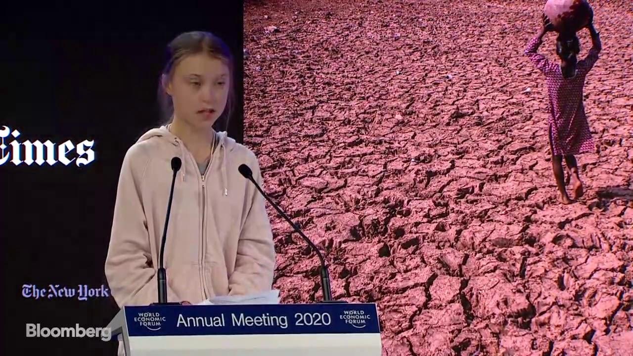 Greta Thunberg's Remarks at the Davos Economic Forum