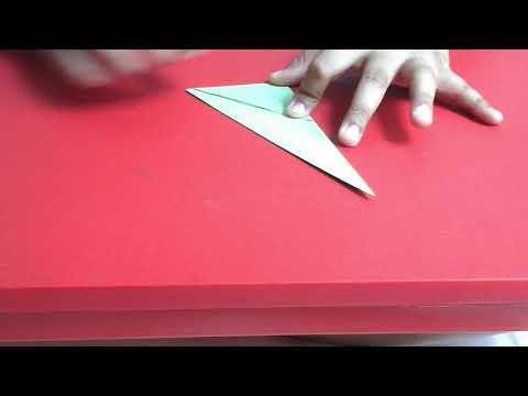 Origami Elf Shoe