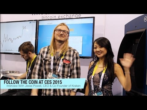 FOLLOW THE COIN AT CES 2015: Interview with Jesse Powell, CEO of Kraken