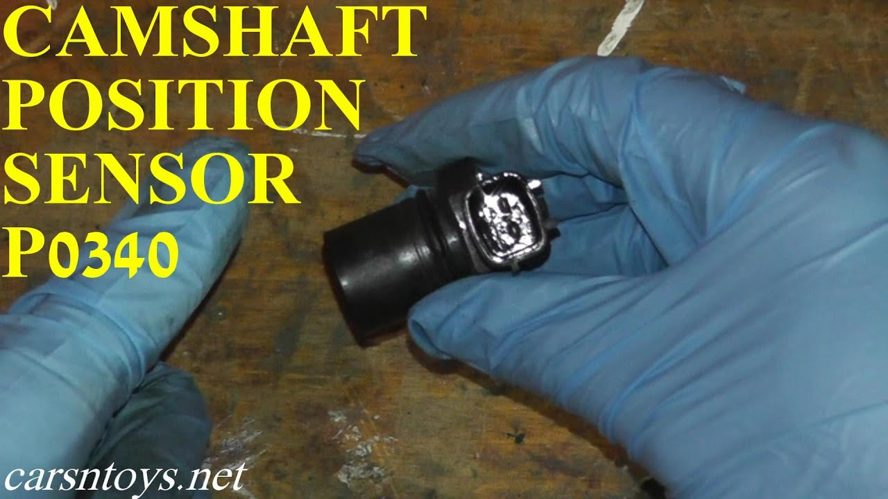 Camshaft Position Sensor P0340 Testing and Replacement HD  YouTube