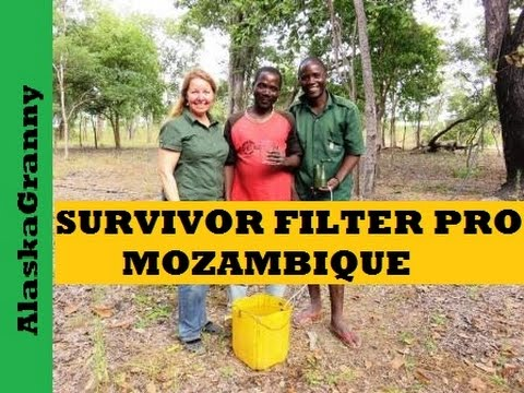 Survivor Filter Pro - Mozambique Field Test