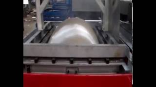 vacuum forming machine  for luggage shell