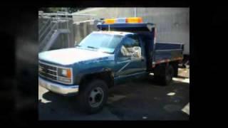 Municibid - 1990 Chevy 1 ton Dump Truck