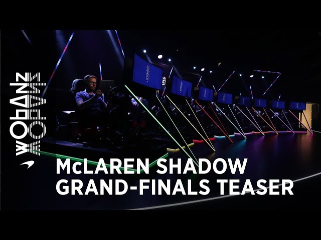 McLaren Shadow grand finals teaser