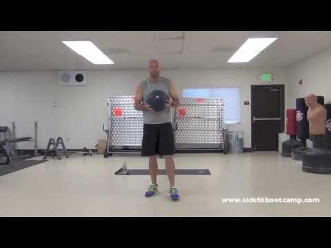 SickFit: 24 Minute HIIT Slam Ball Tabata Workout