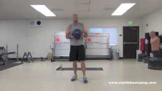 SickFit: 24 Minute HIIT Slam Ball Tabata Workout