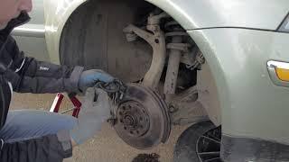 Замена датчика АБС VW пассат б5, audi a4