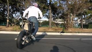 Kawasaki D-tracker STUNT PV rider N☆kaz