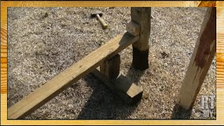 Easy Way To Remove A Post From The Ground ~ Rick's Tips Diy