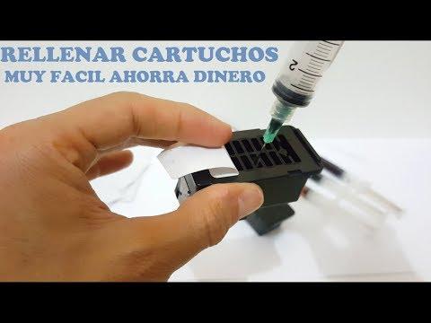 Como Recargar Cartuchos De Cualquier Impresora Canon O Hp - Muy Fácil Ahorra Dinero