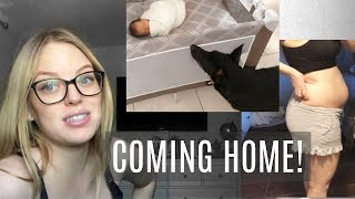 Bringing Baby Home From the Hospital | FIRST TIME MOM | Baby Blues