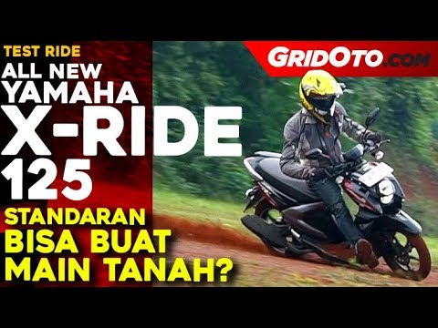 Yamaha X Ride 125 L Test Ride Review L Gridoto Youtube