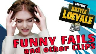 LOEYAS FUNNY FAILS (December) - LOEYA playing FORTNITE BATTLE ROYALE