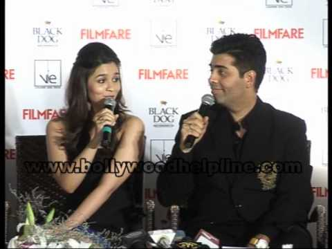 Alia Bhatt, Siddharth Malhotra and Varun Dhawan on Filmfare Mp3