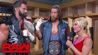Zack Ryder & Curt Hawkins comment on The Viking Raiders: Raw, April 22, 2019