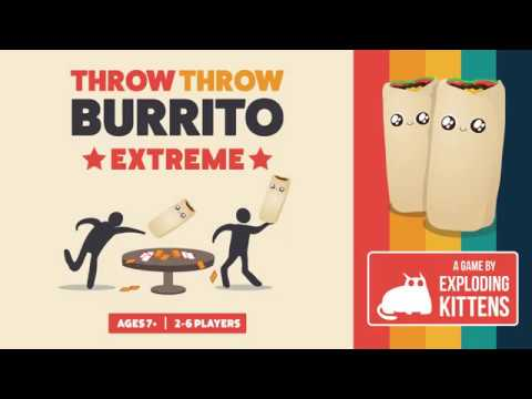 331246 THROW THROW BURRITO EXTREME OUTDOOR EDITION A DODGEBALL CARD GAME FAMILY