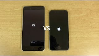 Xiaomi Redmi Note 2 VS iPhone 6 - Speed & Camera Test!