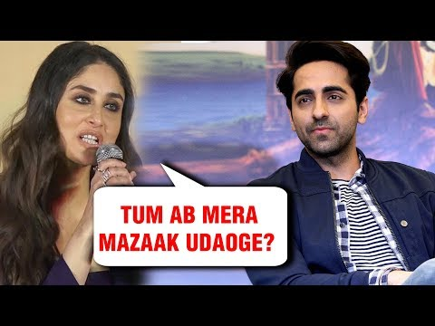 Kareena Kapoor OVERACTING Comment By Ayushmann Khurrana Goes Viral Mp3