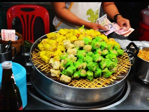 Thai Street Food – Street Food in Thailand – Bangkok Street Food 2016