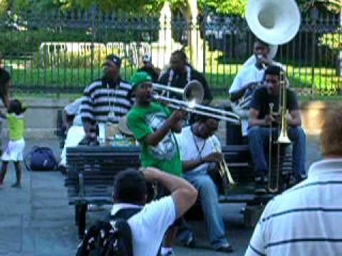 Young Fellaz Brass Band from New Orleans